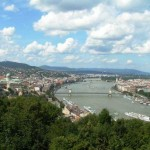 View of the Danube and Budapest