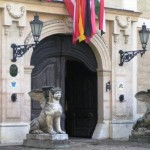 Entrance to our Hungarian castle