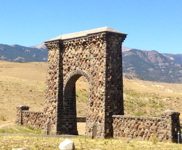 A gate to Yellowstone