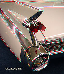 Fin on a 1959 Cadillac, courtesy of Wikipedia