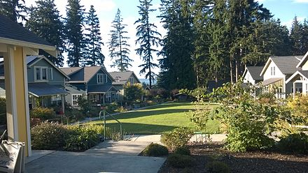 Third Street Cottages on Whidbey Island, Wash.  Photo courtesy of Wikipedia and Jtmorgan