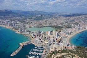 Calpe, Alicante.