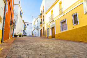 Calpe, Alicante. retirement communities